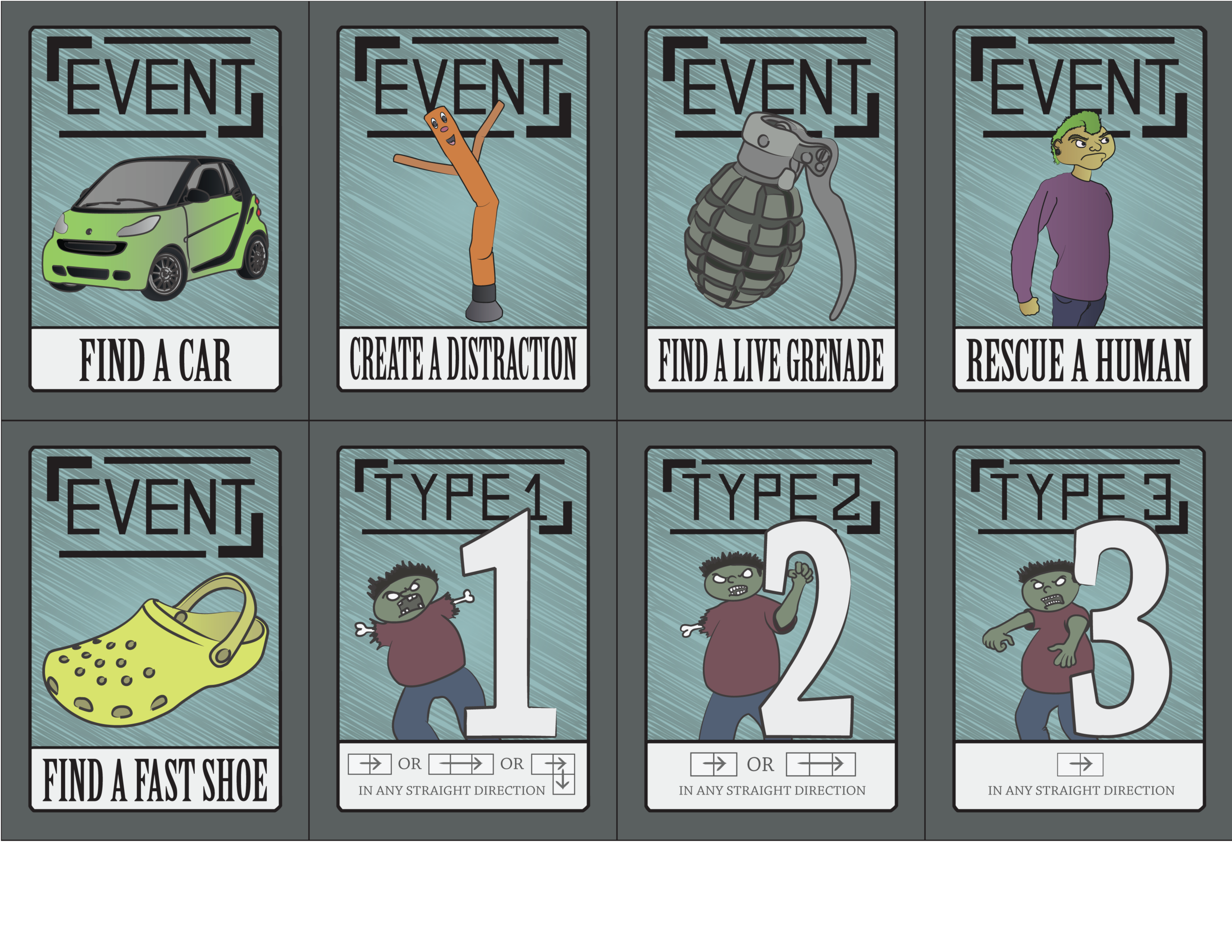 ZORP reference cards PnP